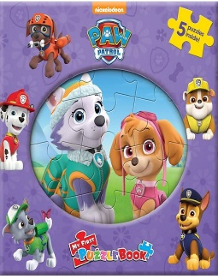 My First Puzzle Book : Nick Paw Patrol