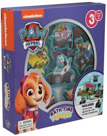 Bath Time Book :  Nick Paw Patrol Girls