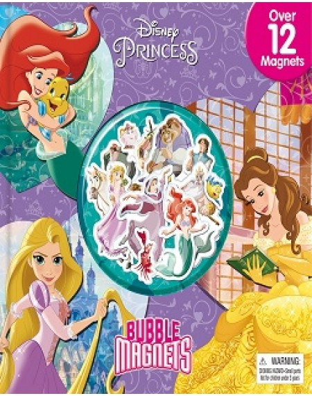 Bubble Magnet Book : Disney Princess