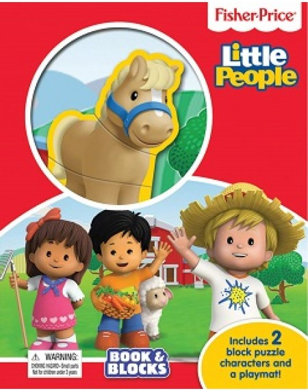 Book And Block : Fisher Price Little People