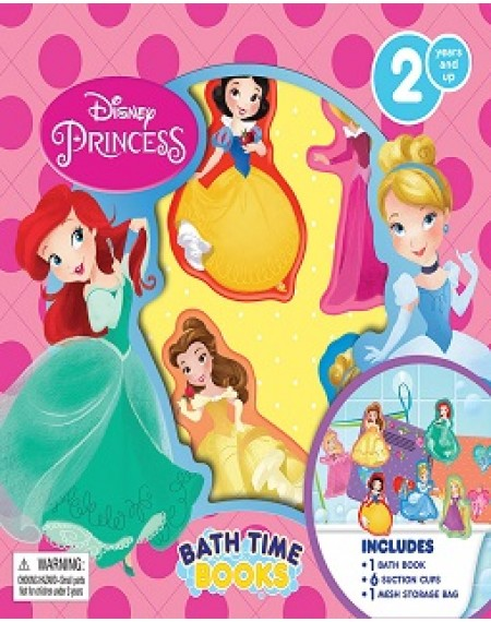 Bath Time Book : Disney Princess