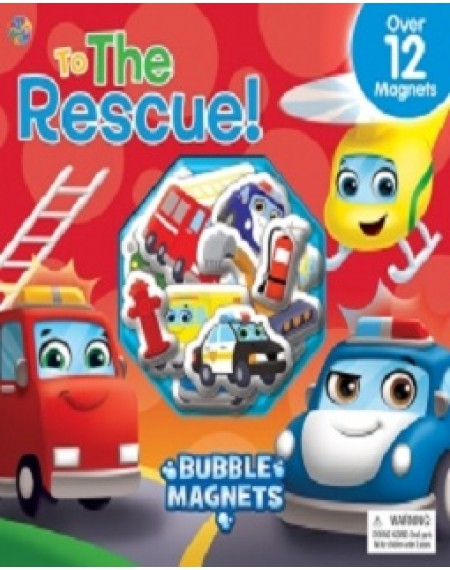 Bubble Magnet Book : Rescue Cars