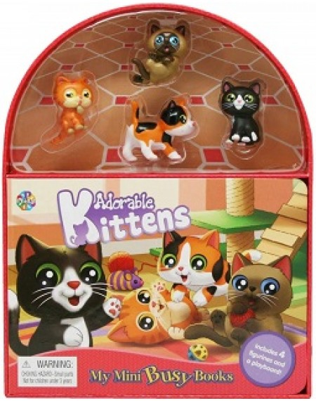 Mini Busy Book : Adorable Kittens