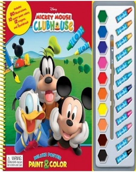 Deluxe Poster Paint and Crayon Assort : Disney Minnie
