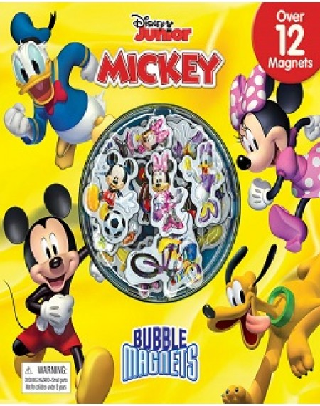 Bubble Magnt Book : Disney Mickey / Minnie