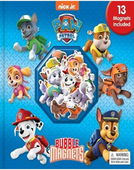 Bubble Magnet Book : Nick Paw Patrol