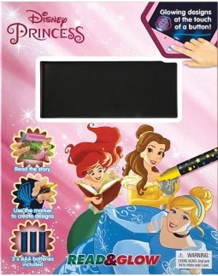 Read And Glow : Disney Princess ( Mini Format)