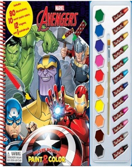 Deluxe Poster Paint And Colour Marvel Infinity
