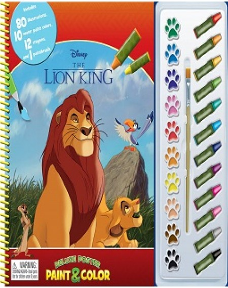 Deluxe Poster Paint And Colour Disney Lion King