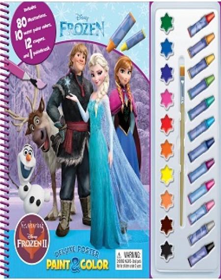 Deluxe Poster Paint And Colour : Disney Frozen 2