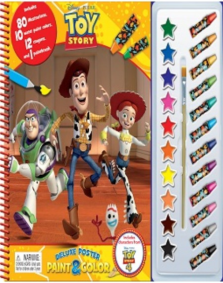 Deluxe Poster Paint And Colour : Disney Toy Story