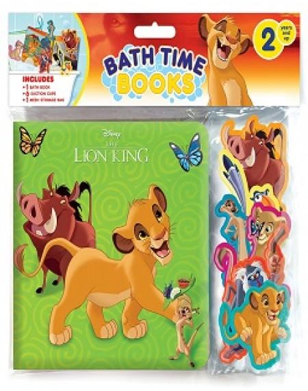 Bath Time Books-The Lion King