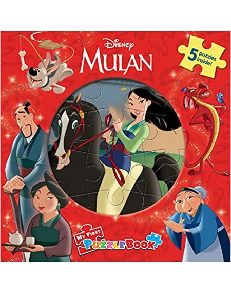 My First Puzzle Book : Disney Mulan