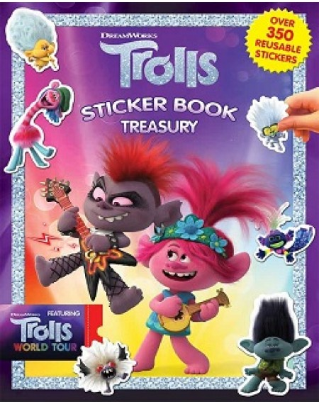 Sticker Book Treasury : Dreamworks Trolls 2 World Tour