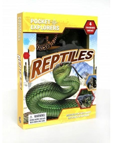 Pocket Explorers : Reptiles
