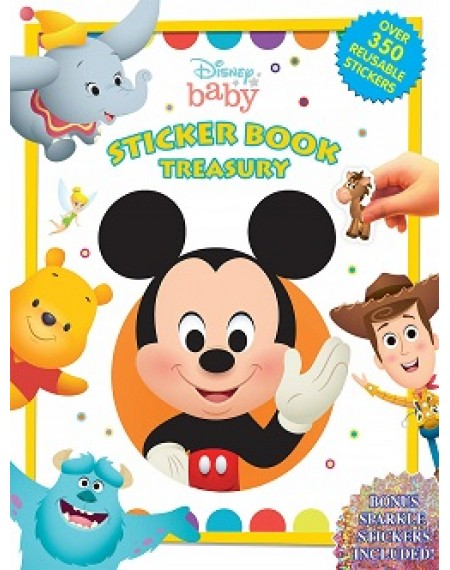 Sticker Book Treasury : Disney Baby