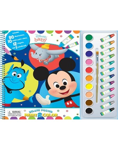 Deluxe Poster Paint And Colour : Disney Baby