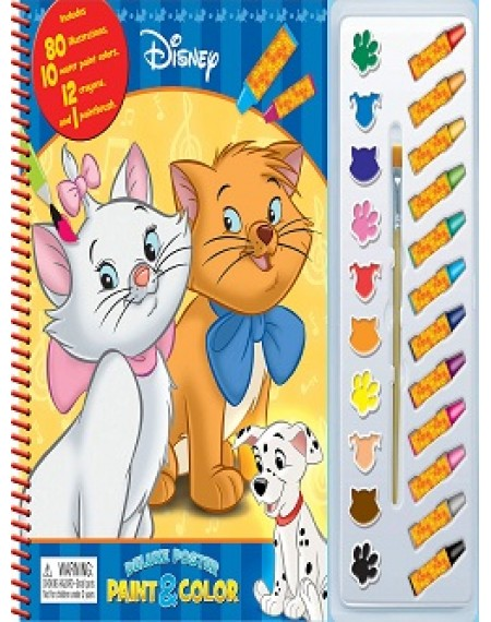 Deluxe Poster Paint And Colour : Disney Animal Classics