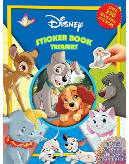 Sticker Book Treasury : Disney Animal Classics