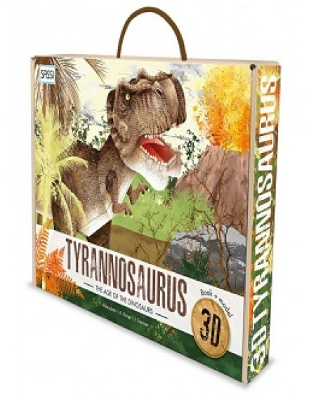 3D MODELS - TYRANNOSAURUS. THE AGE OF THE DINOSAURS
