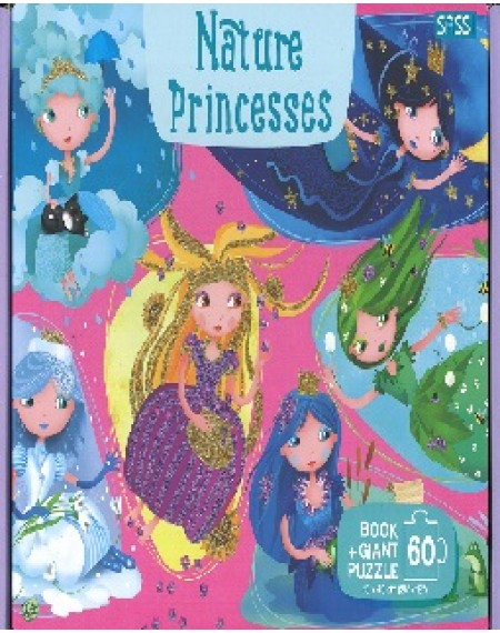GIANT PUZZLE AND BOOK - NATURE PRINCESSES
