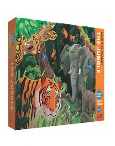 220 PIECE PUZZLE - SAVE THE PLANET - THE JUNGLE