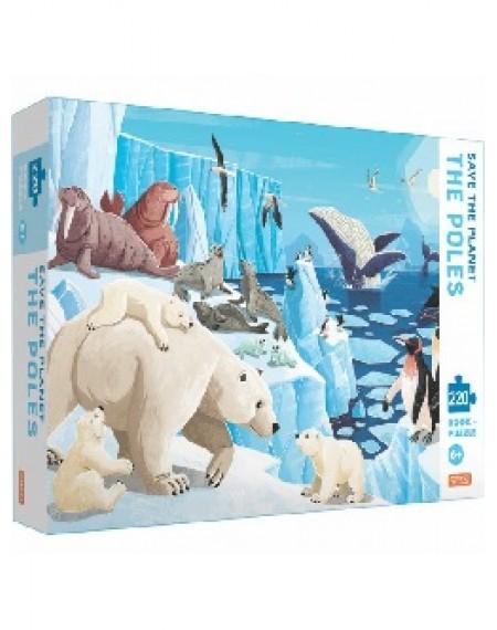 220 Piece Puzzle Save The Planet : The Poles