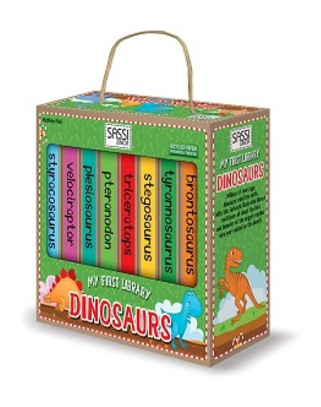 MY FIRST LIBRARY - DINOSAURS