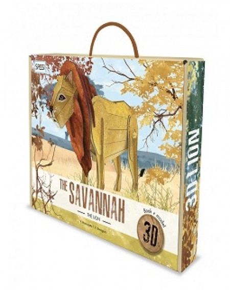 3D MODELS - THE SAVANNAH. THE LION