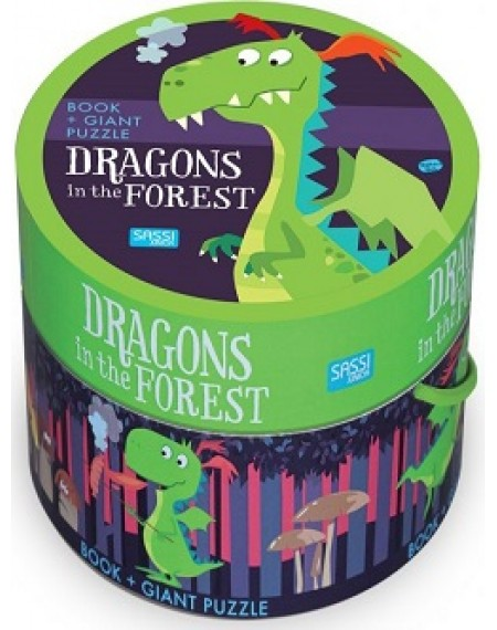 Giant Puzzle : Dragons In The Forest