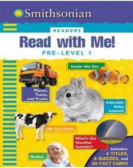 Smithosonian Readers : Read With Me ! Pre Level 1