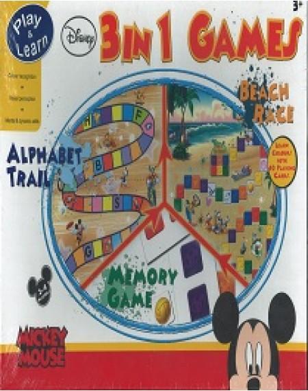 Disney Mickey : 3 In 1 Games