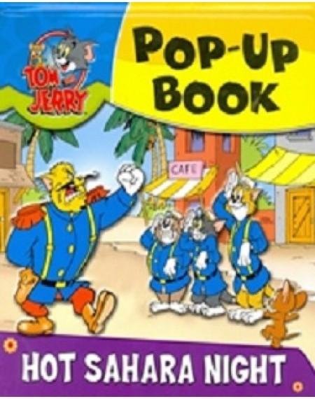 Pop Up Book Tom and Jerry Hot Sahara Night