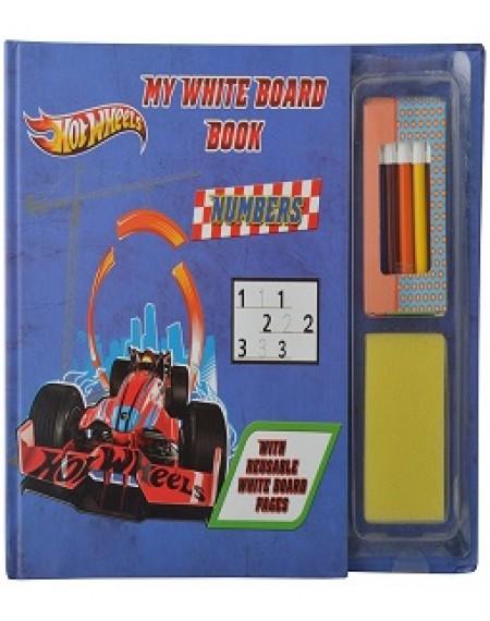 My White Board Book : Hotwheels Numbers