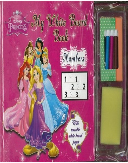 My White Board Book : Disney Princess Numbers