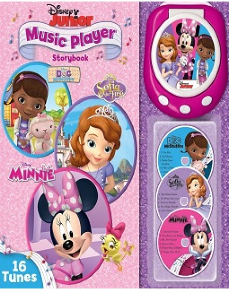Music Player Storybook : Disney Junior