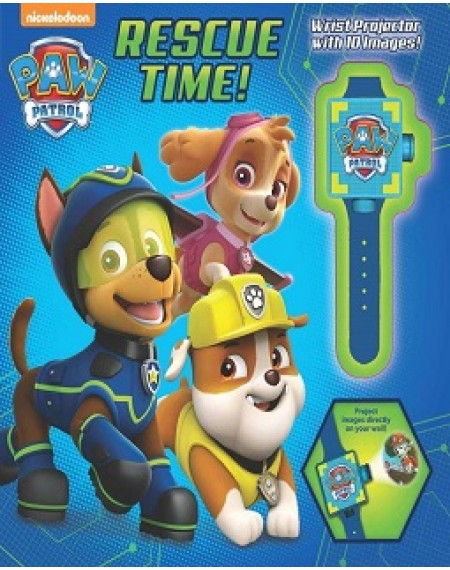 Paw Patrol Rescue Time : Includes Wrist Projector With 10 Images!