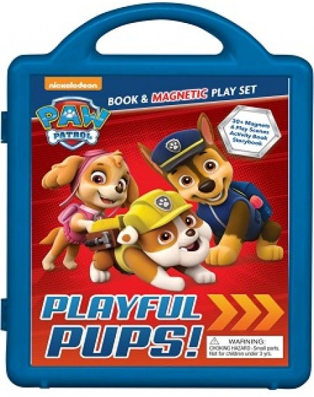 PAW Patrol : Playful Pups!: Book & Magnetic Playset