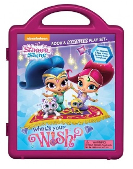 Shimmer and Shine: What's Your Wish?: Book & Magnetic Playset