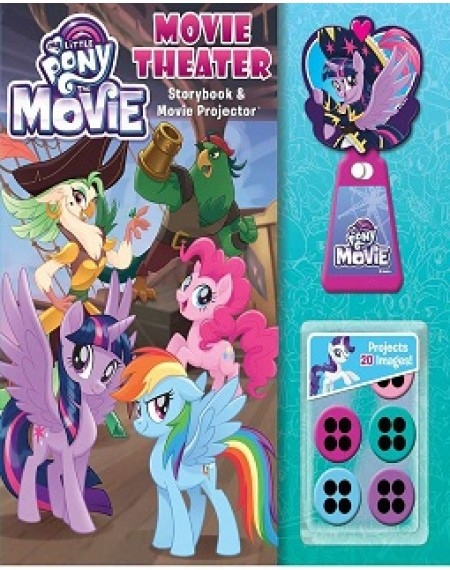 Movie Theater Storybook And Movie Projector : My Little Pony The Movie