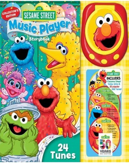 Music Player Storybook : Sesame Street