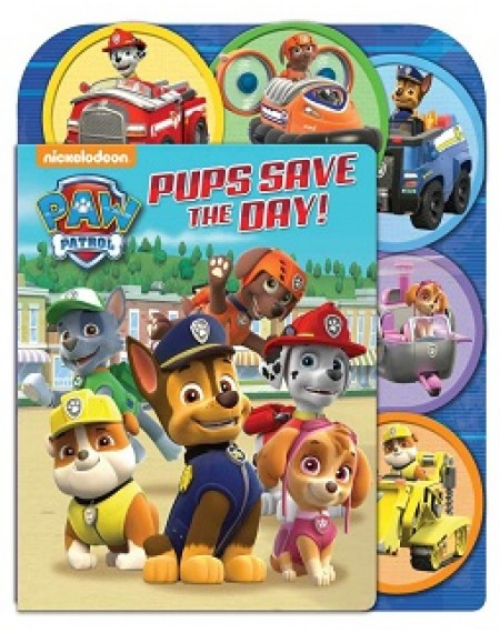 Paw Patrol: Pups Save the Day! : A Slide Surprise Book