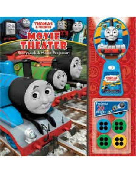 Movie Theater Story Book And Movie Projector: Thomas & Friends