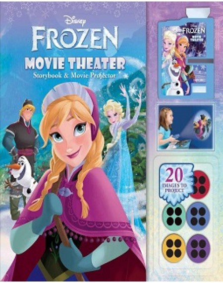 Movie Theater Storybook And Movie Projector : Disney Frozen