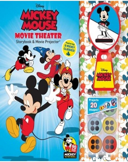 Story Book And Movie Projector : Disney Mickey Mouse 90th Anniversary