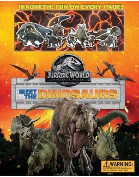 Jurassic World : Fallen Kingdom Magnetic Hardcover