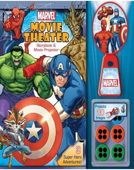 Movie Theater Storybook And Movie Projector : Marvel