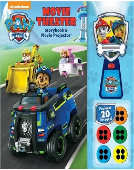 Movie Theater Story Book And Movie Projector : PAW PATROL  (9/18)