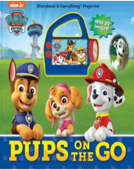 Paw Patrol Pups on Call Carryalong Projector