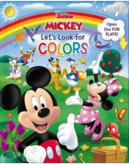 Disney Mickey and Friends Lets Look For Colours